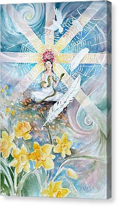 Goddess Awakened Canvas Print