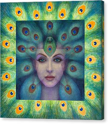 Goddess Isis Visions Canvas Print by Sue Halstenberg