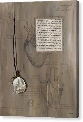 Goddess Leto Canvas Print by Kristin Llamas