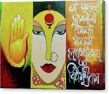 Goddess Canvas Print by Rohini