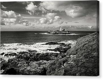 Godrevy Lighthouse 1 Canvas Print