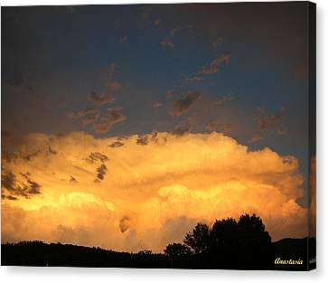 Canvas Print featuring the photograph God's Answer To Rain Prayers by Anastasia Savage Ealy