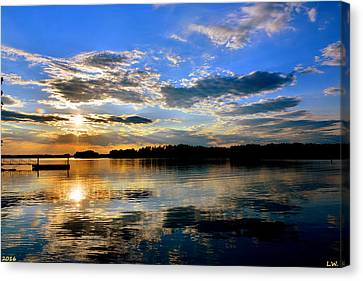 God's Beauty Canvas Print by Lisa Wooten