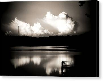 God's Country Canvas Print by Karen Scovill