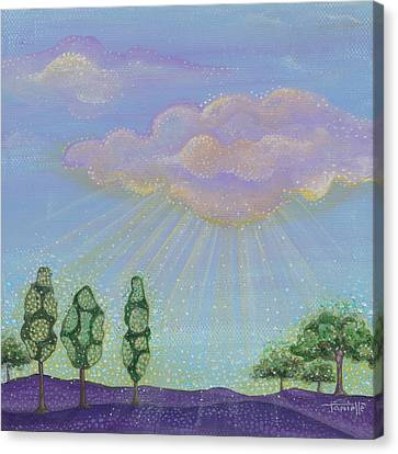 God's Grace Canvas Print by Tanielle Childers