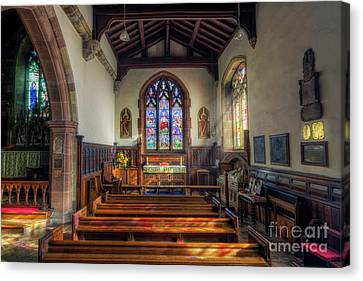 Canvas Print featuring the photograph Gods Light by Ian Mitchell