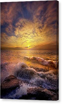 Canvas Print featuring the photograph Gods Natural Cure by Phil Koch