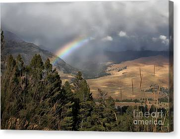 Canvas Print featuring the photograph Gods Promise  by Robert Pearson