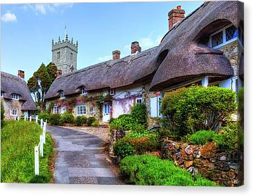 Godshill - Isle Of Wight Canvas Print by Joana Kruse