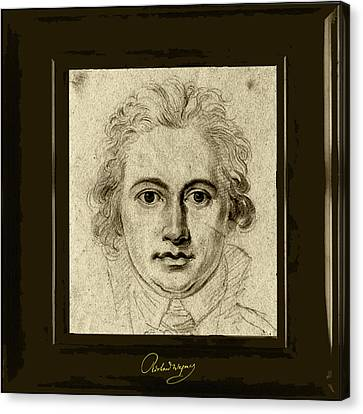 Goethe Canvas Print by Asok Mukhopadhyay