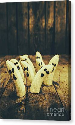 Going Bananas Over Halloween Canvas Print
