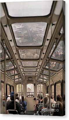 Going Down Canvas Print by Richard Rizzo