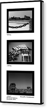 Going Going Gone Canvas Print by Kenneth Krolikowski