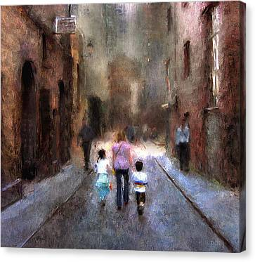 Going Home Canvas Print by Declan O'Doherty