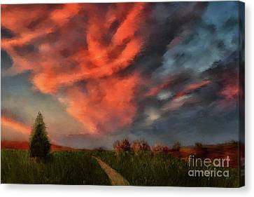Canvas Print - Going Home by Lois Bryan