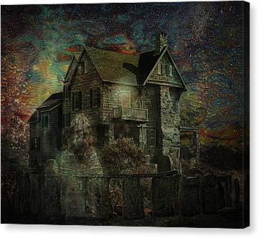 Ghost Story Canvas Print - Going Home by Terry Fleckney