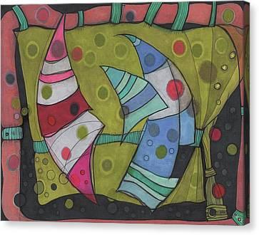 Going In Circles Canvas Print by Sandra Church