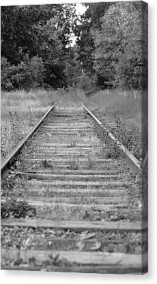 Canvas Print featuring the photograph Going Nowhere by Corinne Rhode