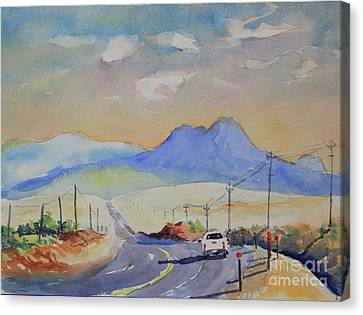 Going To Alpine Canvas Print