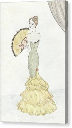 Going To The Ball Canvas Print by Christine Corretti