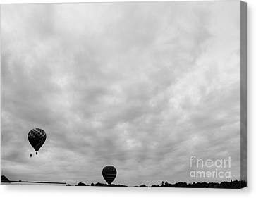 Balloon Festival Canvas Print - Going To The Clouds  by Victory  Designs