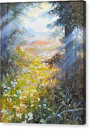 Going To The Dovefields  Sold Canvas Print