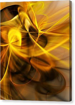Gold And Shadows Canvas Print