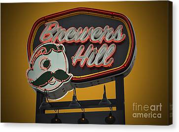Gold Brewers Hill Canvas Print by Jost Houk