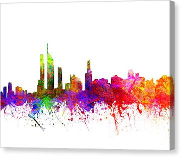 Gold Coast Australia Cityscape 02 Canvas Print