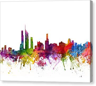 Gold Coast Australia Cityscape 06 Canvas Print