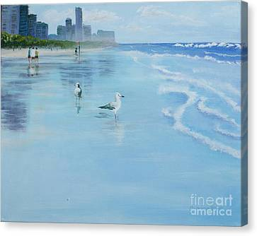 Gold Coast Australia, Canvas Print by Genevieve Brown