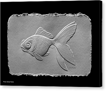 Gold Fish1a Canvas Print