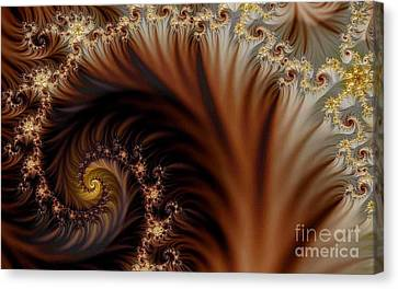 Gold In Them Hills Canvas Print by Clayton Bruster
