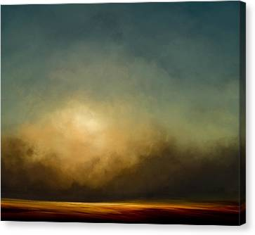 Gold Shift Canvas Print
