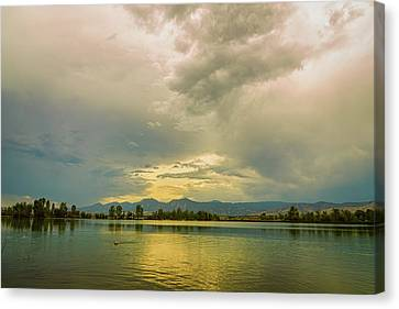 Canvas Print featuring the photograph Golden Afternoon by James BO Insogna