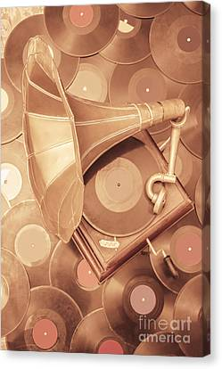 Golden Age Of Sound Canvas Print