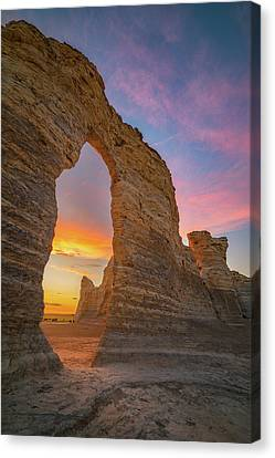 Darren Canvas Print - Golden Arch Of Kansas by Darren White