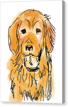 Golden Boy Canvas Print by Robert Yaeger