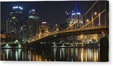 Grandview Canvas Print - Golden Bridge by Frozen in Time Fine Art Photography