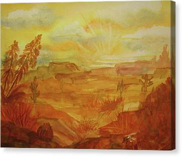Golden Dawn Canvas Print