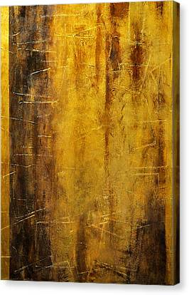 Golden Discovery Canvas Print by Nicky Dou