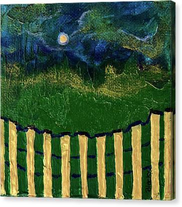 Golden Evening Canvas Print by Donna Blackhall
