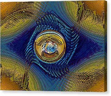 Golden Eye Canvas Print by Patrick Guidato