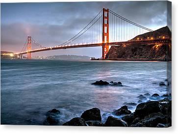 Sausalito Canvas Print - Golden Gate 2 by Matt Hammerstein