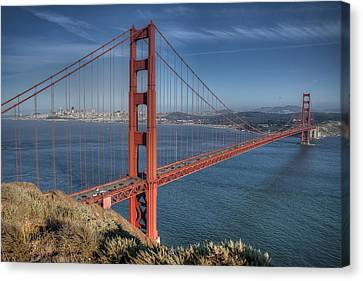 Golden Gate Canvas Print by Andreas Freund