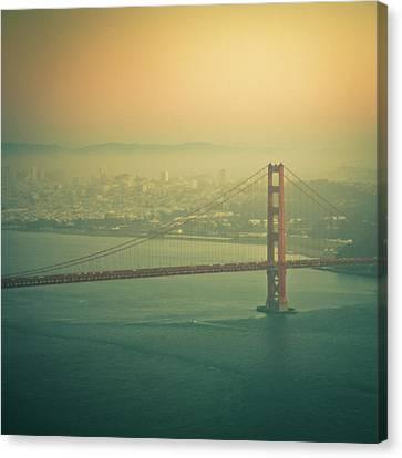 Golden Gate Bridge Canvas Print by © Reny Preussker