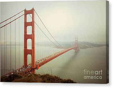 Gate Canvas Print - Golden Gate Bridge by Ana V Ramirez