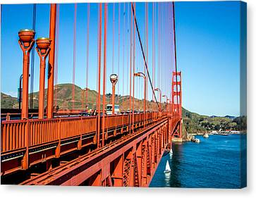 Canvas Print - Golden Gate Bridge - From The Edge by Bill Gallagher