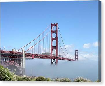 Golden Gate Bridge Canvas Print by Helen Haw