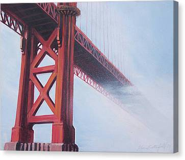 Golden Gate Bridge Canvas Print by Kean Butterfield